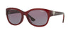 Vogue VO5034BF Pillow Sunglasses  23628H-TRANSPARENT BORDEAUX 56-17-135 - Color Map violet