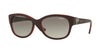 Vogue VO5034SB Pillow Sunglasses  237711-TOP DARK RED/OPAL RED 56-17-135 - Color Map purple/reddish