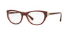 Vogue VO5058B Cat Eye Eyeglasses  2323-TOP BORDEAUX/OPAL PINK 53-18-135 - Color Map bordeaux