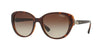 Vogue VO5092SB Oval Sunglasses  238613-TOP DARK HAVANA/BROWN 53-18-130 - Color Map havana