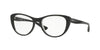 Vogue VO5102 Cat Eye Eyeglasses  2385-TOP BLACK/GREY TRANSPARENT 51-17-135 - Color Map black