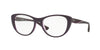 Vogue VO5102 Cat Eye Eyeglasses  2409-TOP VIOLET/VIOLET TRANSP 53-17-140 - Color Map violet