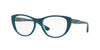 Vogue VO5102 Cat Eye Eyeglasses  2469-TOP PETROLEUM/GREEN TRANSP 53-17-140 - Color Map green