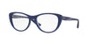 Vogue VO5102 Cat Eye Eyeglasses  2471-TOP BLUE/BLUE TRANSP 53-17-140 - Color Map blue