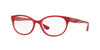 Vogue VO5103 Pillow Eyeglasses  2470-TOP RED/RED TRANSPARENT 53-17-140 - Color Map red