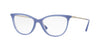 Vogue VO5239 Cat Eye Eyeglasses  2673-OPAL BLUE 54-16-140 - Color Map blue