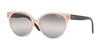 Vogue VO5246SF Round Sunglasses  26840J-OPAL PINK 54-16-140 - Color Map pink