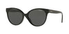 Vogue VO5246SF Round Sunglasses  W44/87-BLACK 54-16-140 - Color Map black