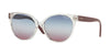 Vogue VO5246SF Round Sunglasses  W7450K-TRANSPARENT 54-16-140 - Color Map clear