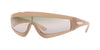 Vogue ZOOM-IN VO5257S Rectangle Sunglasses  26790M-OPAL TURTLEDOVE 37-137-120 - Color Map honey