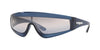 Vogue ZOOM-IN VO5257S Rectangle Sunglasses  27200J-TRANSPARENT BLUE 37-137-120 - Color Map blue