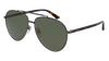 GUCCI GG0043SA AVIATOR Sunglasses For Men  GG0043SA-003 RUTHENIUM HAVANA / GOLD DARK 61-14-145