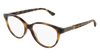 GUCCI GG0379O ROUND / OVAL Eyeglasses For Women  GG0379O-003 HAVANA HAVANA / TRANSPARENT SHINY 52-16-140