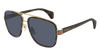GUCCI GG0448S AVIATOR Sunglasses For Men  GG0448S-004 HAVANA HAVANA / GREY DARK 58-16-145