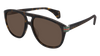 GUCCI GG0525S ROUND / OVAL Sunglasses For Men  GG0525S-003 HAVANA HAVANA / BROWN DARK 60-18-145