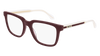 GUCCI GG0560O RECTANGULAR / SQUARE Eyeglasses For Men  GG0560O-007 BURGUNDY CRYSTAL / TRANSPARENT SHINY 55-20-145