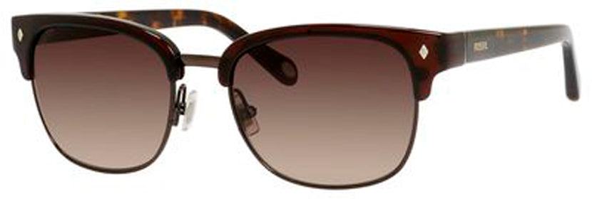 Fossil 2003/S Sunglasses 01X7-BROWN