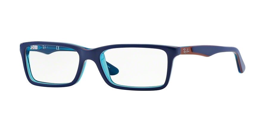 Ray-Ban Junior Vista RY1534 Eyeglasses 3587-TOP BLUE ON AZURE TRANSP