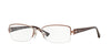 Vogue WINTERY FLOWER VO3875B Butterfly Eyeglasses  756S-MATTE LIGHT PINK 52-17-135 - Color Map pink