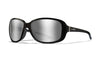 WILEY X WX Affinity Sunglasses  Gloss Black 66-14-125