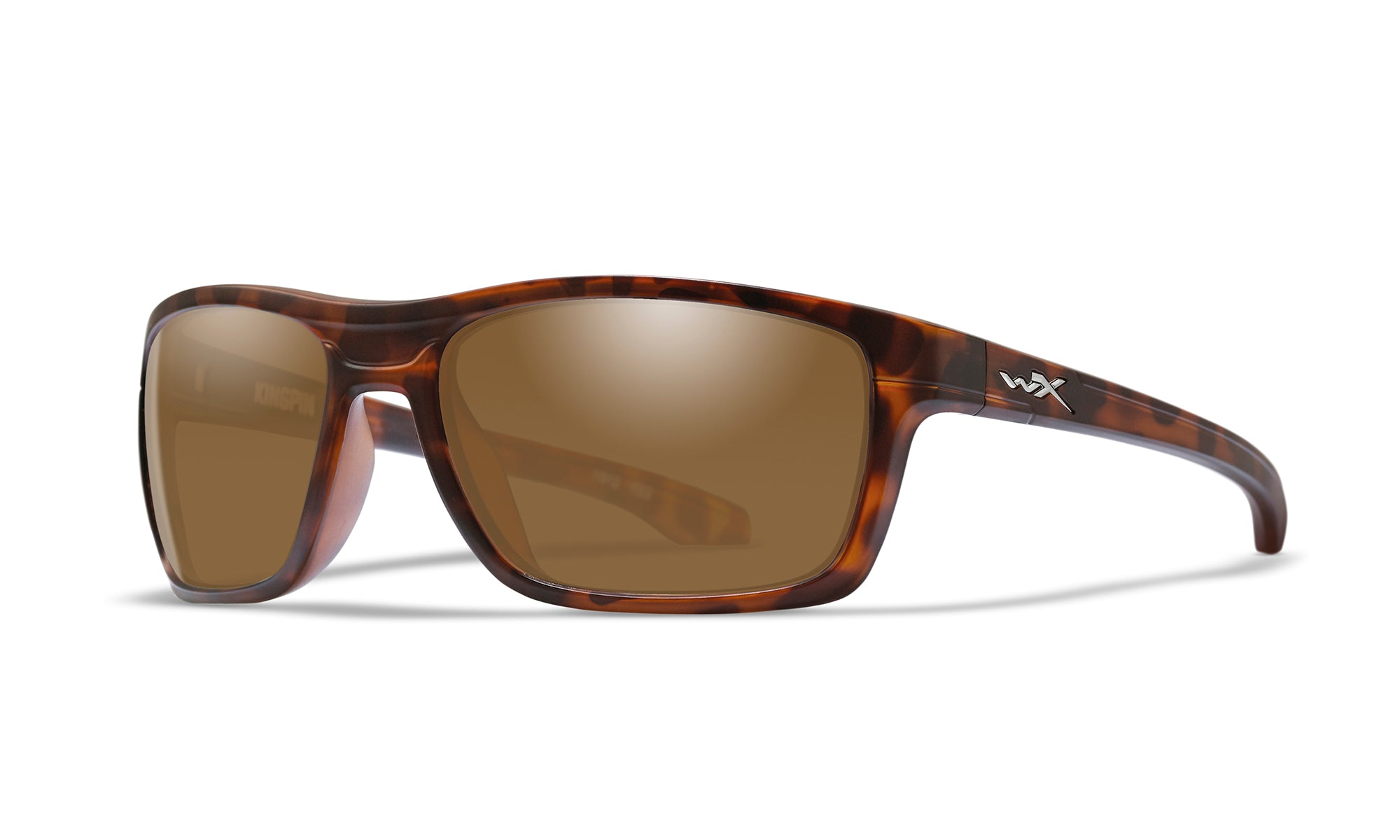 WILEY X WX Kingpin Sunglasses  Matte Demi 60-19-122
