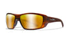 WILEY X WX Kobe Sunglasses  Gloss Hickory Brown 60-18-118