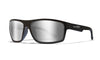 WILEY X WX Peak Sunglasses  Gloss Black 65-15-130