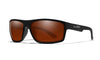 WILEY X WX Peak Sunglasses  Matte Black 65-15-130