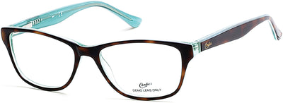 Candies Geometric CA0136 Eyeglasses 056-056 - Havana/other