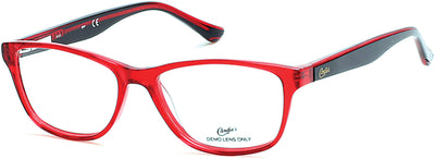 Candies Geometric CA0136 Eyeglasses 068-068 - Red/other