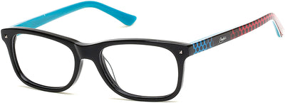 Candies Geometric CA0500 Eyeglasses 005-005 - Black/other