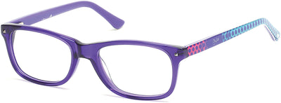 Candies Geometric CA0500 Eyeglasses 083-083 - Violet/other