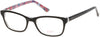 Candies CA0504 Eyeglasses 005-005 - Black/other