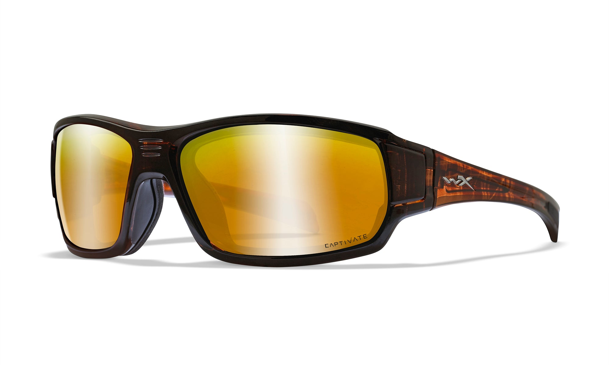 WILEY X WX Breach Sunglasses  Matte Brown 67-15-115