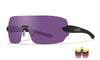 WILEY X WX Detection 5 Lens Package Sunglasses  Matte Black 00-00-00