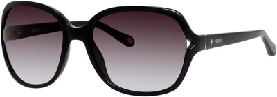 FOSSIL Fos 3020/S Aviator Sunglasses 0D28-BLACK