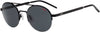 HUGO BOSS (HUB) Hg 1032/S Oval Modified Sunglasses 0003-Matte Black (Back Order 2 weeks)