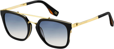 MARC JACOBS Marc 270/S Square Sunglasses 0807-Black