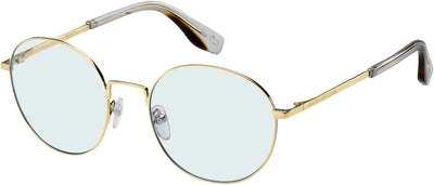 MARC JACOBS Marc 272 Oval Modified Eyeglasses 03YG-Lgh Gold