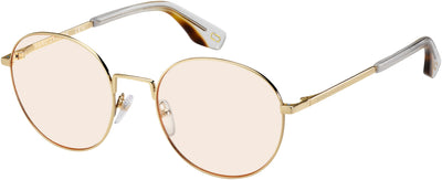 MARC JACOBS Marc 272 Oval Modified Eyeglasses 0J5G-Gold