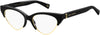 MARC JACOBS Marc 314 Cat Eye/Butterfly Sunglasses 0807-Black