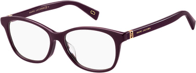 Marc Jacobs MARC 340/F Square Sunglasses 00T7-00T7  Plum (00 Demo Lens)