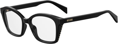 Moschino Mos 517 Special Shape Eyeglasses 0807-Black