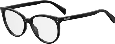Moschino Mos 535 Oval Modified Sunglasses 0807-Black