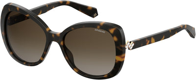 POLAROID Pld 4063/S/X Square Sunglasses 0086-Dark Havana