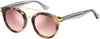 Tommy Hilfiger T. Hilfiger 1517/S Oval Modified Sunglasses 00T4-00T4  Havana Pink (2S Pink Flash Silver)