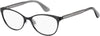 Tommy Hilfiger TH 1554 Cat Eye/Butterfly Eyeglasses 0003-0003  Matte Black (00 Demo Lens)