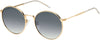 Tommy Hilfiger TH 1586/S Oval Modified Sunglasses 0000-0000  Rose Gold (9O Dark Gray Gradient)