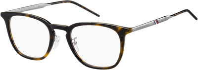 TOMMY HILFIGER Th 1623/F Rectangular Sunglasses 0086-Dark Havana