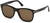 Tom Ford FT0595 Eric-02 Geometric Sunglasses 01J-01J - Shiny Black  / Roviex